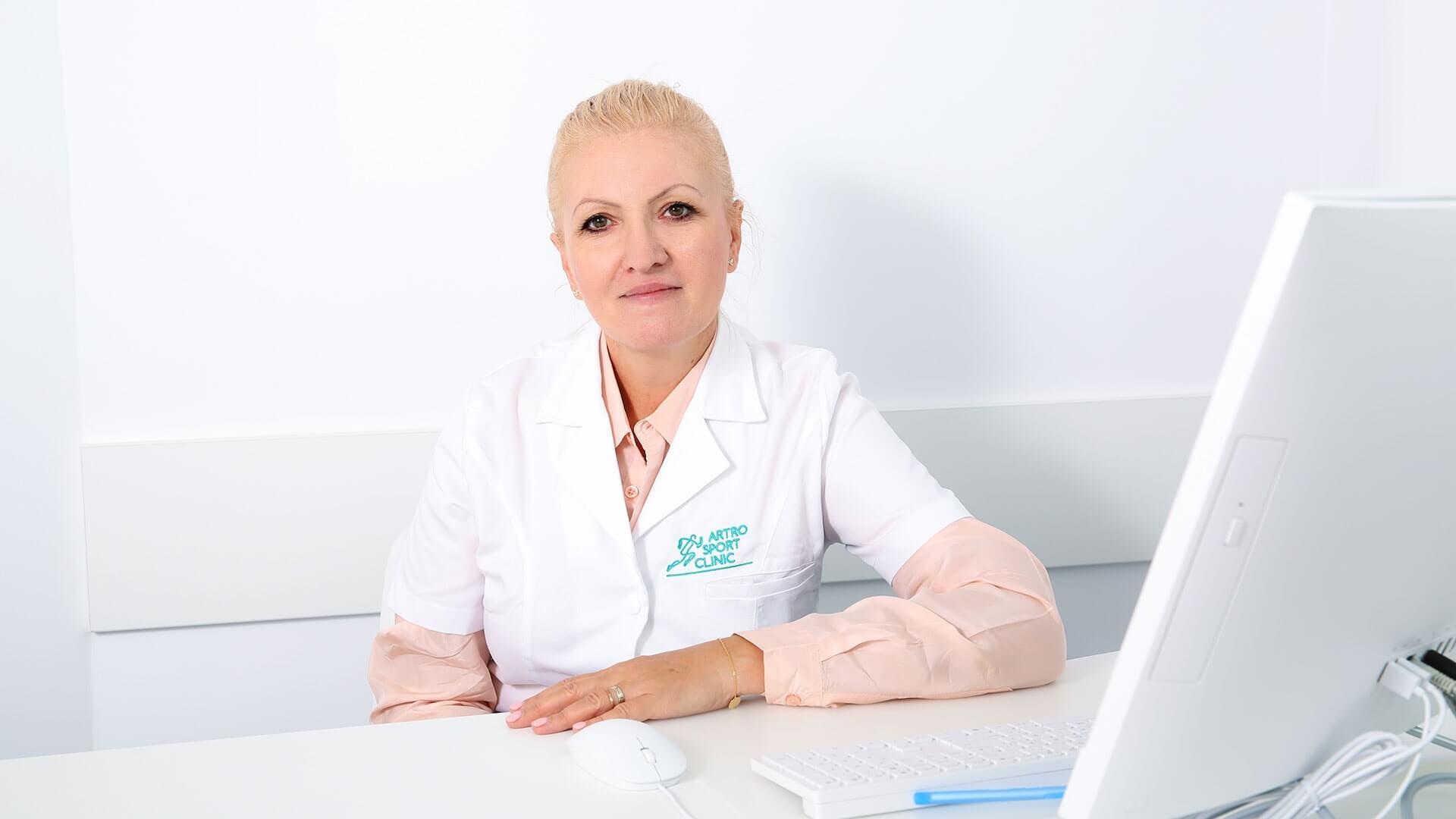 Dr. Adina Craciunoiu - Medic primar neurologie// Artro Sport Clinic