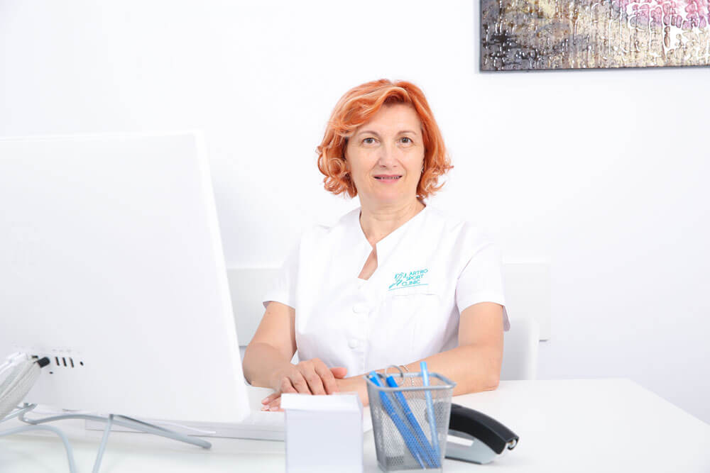 Dr. Valerica Voicu - medic primar explorari functionale // Artro Sport Clinic